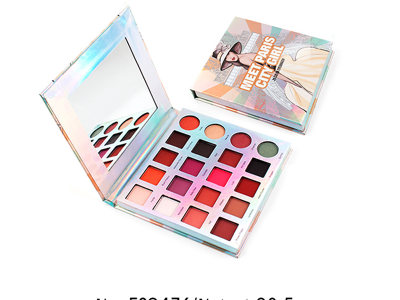Private label cosmetics 20 colors eyeshadow palette ES0476
