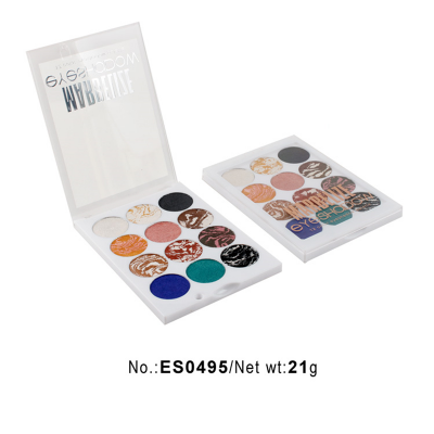 Eyeshadow palette manufacturers 12 colors private label ES0495