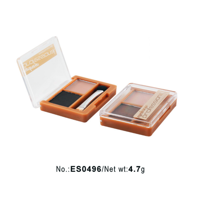 Private label cosmetics wholesale duo colors eyebrow powder