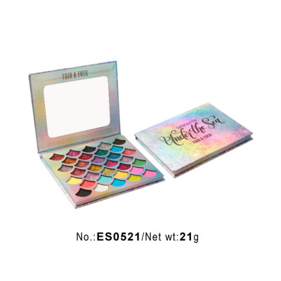 Private label Glittler eyeshadow palette 32 colors ES0521
