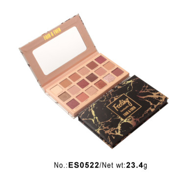 ES0522-private label paper eyeshadow palette 18 colors