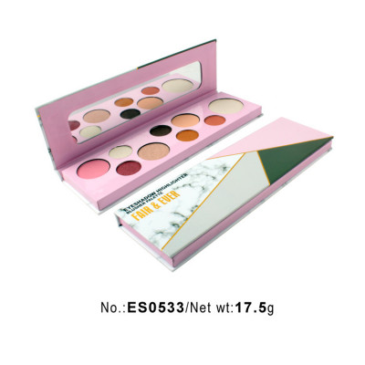 Best 9 colors high pigment eyeshadow palette private label ES0533