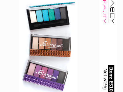 Custom eyeshadow palette manufacturers 6 colors high pigment ES102