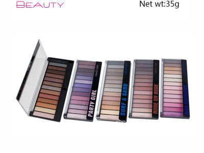 Cheap Wholesale Private Label Cosmetics 14 colors eyeshadow Palette ES112