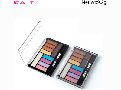 10 colors eyeshadow palette Illuminating private label Cruelty free ES136
