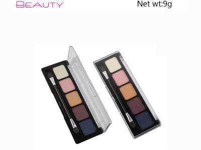 Best Private Label Metallic Eyeshadow Palette  5 colors ES87