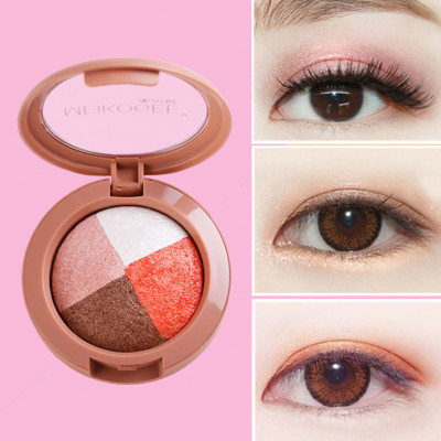 Private label wholesale cosmetics baked single eyeshadow ES0388
