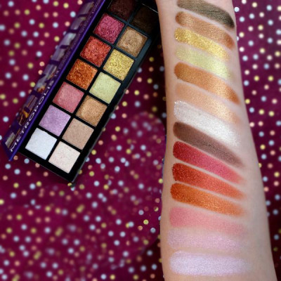 Private label high pigment eyeshadow palette 14 colors