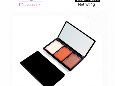 3 colors eyeshadow palette top cosmetic manufacturers in china PS0105