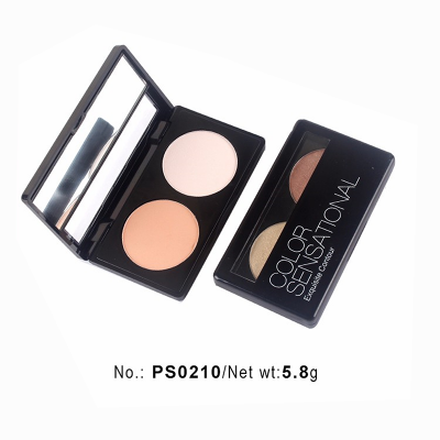 private label cosmetics wholesale duo colors eyeshadow palette