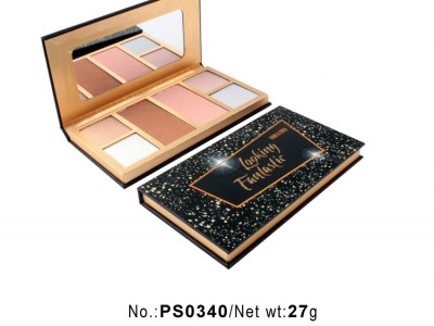 High quality 6 colors makeup palette private label PS0340