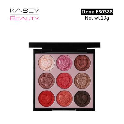 wholesale cosmetics 9 colors eyeshadow palette private label ES0341-3