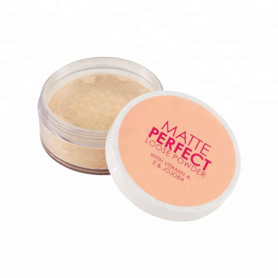 Makeup Supplier Perfect Private Label Matte Loose powder