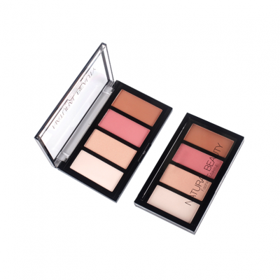 4 colors Eyeshadow palette private label -PS0212