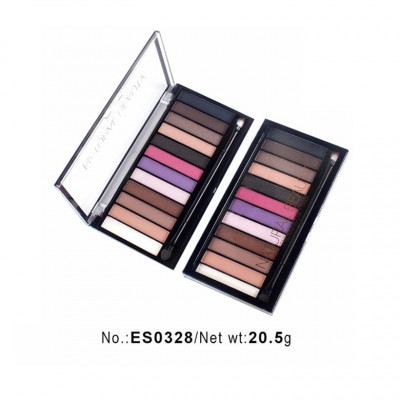 Private label cosmetics eyeshadow palette China makeup manufacturers
