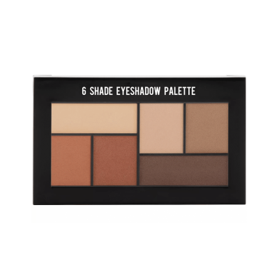 private lable makeup 6 shade eyeshadow paltte