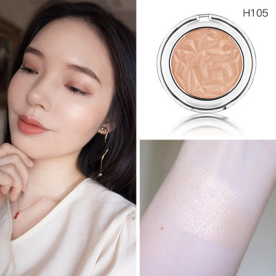 Private label cosmetics highlighter powder
