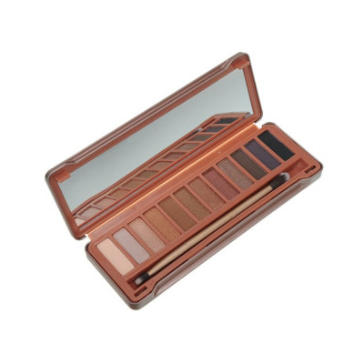 Priva label 12 color tin eyeshadow palette (8)