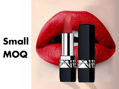 Private label lipstick with small MOQ LS0600