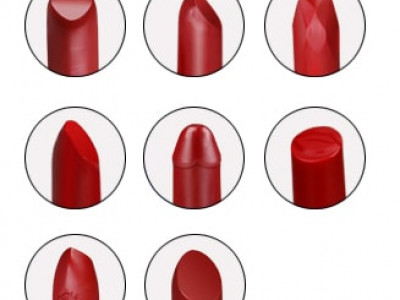 Private label lipstick material shape customized