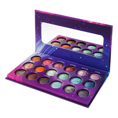 Private label baked eyeshadow palette 18 colours