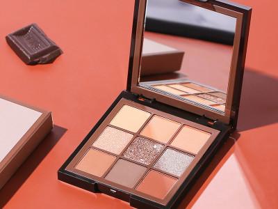 Luxury Eyeshadow Sample Private label High pigment 9 colors -ES0609