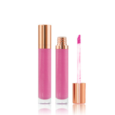 New Shiny sheer lip gloss with shimmer private label