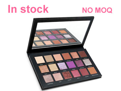 In stock-18 colors high pigment eyeshadow palette Private Label – ES0612
