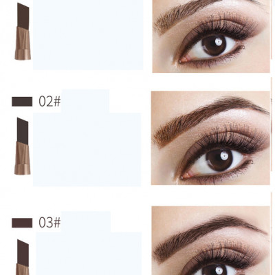 Private label Auto Eyebrow Pencil With Brush