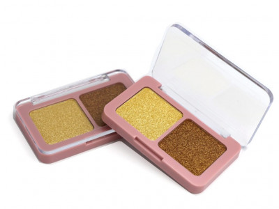 Private label 2 colors Bronzer Palette – FA0243