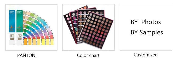 Beautiful eyeshadow palette 7 colors private label ES0372