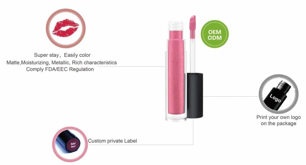 Custom Lip gloss LG0316