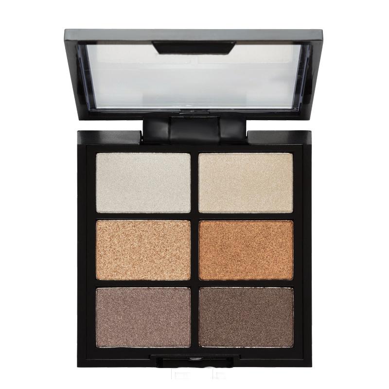 Vegan Private label 6 colors highly pigment eyeshadow palette - ES0322