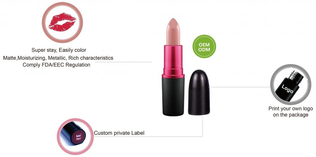 Matte Lipstick Private lable LS0566