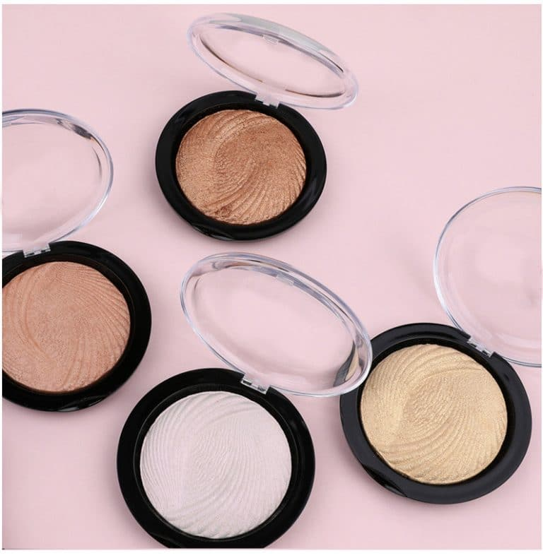 Private label baked highlighter & bronzer