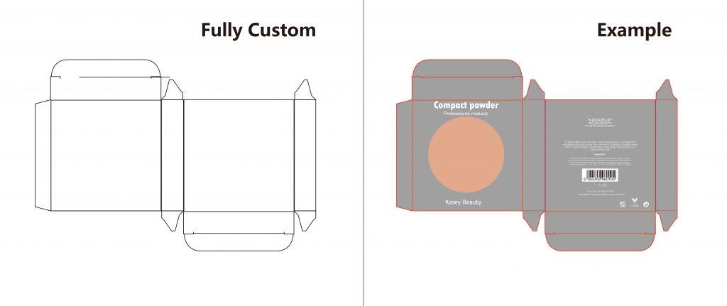 Private label compact powder PS0001