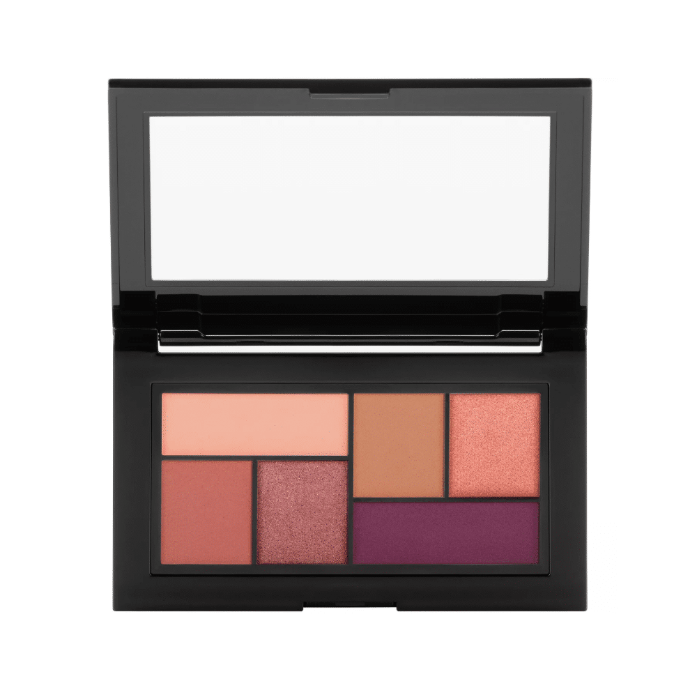 6 colors high pigment makeup eyeshadow palette ES0405