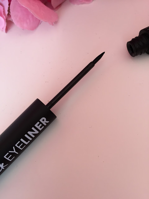 Private label cosmetics matte black liquid eyeliner EL0034