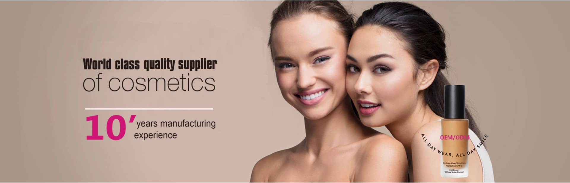 China private label wholesale cosmetics makeup manufacturers