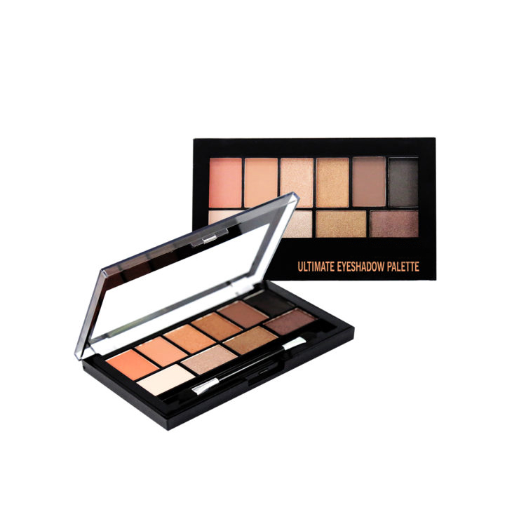 Eye shadow palette 10 colors private label wholesale cosmetics - CS0086