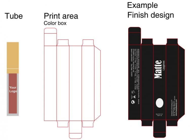 Make Your Own Logo Matte liquid Lipstick Private Label