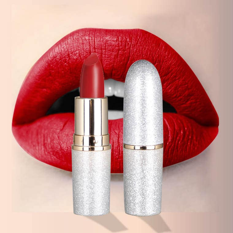 make your own logo matte lipstick private label with small MOQ