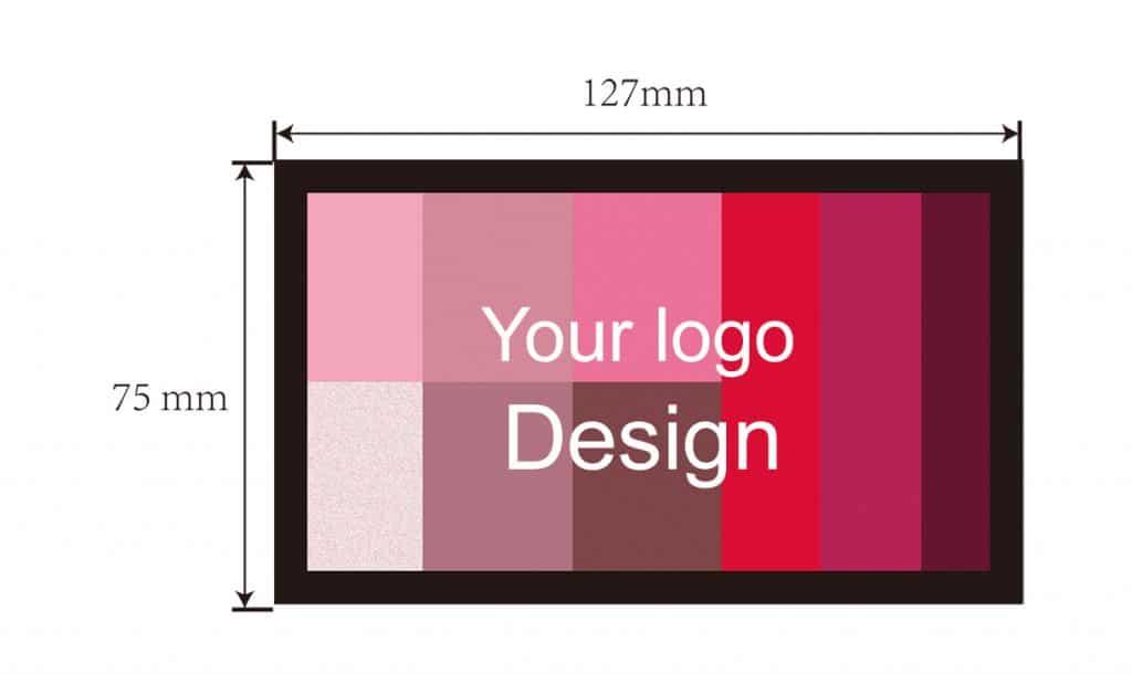 Private label 9 colors eyeshadow palette - ES0475