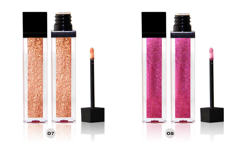In stock Best glitter lip gloss wholesale private label-  LG0368