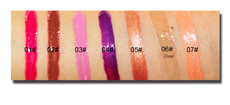 In stock Shiny sheer lip gloss with shimmer private label -  LG0367