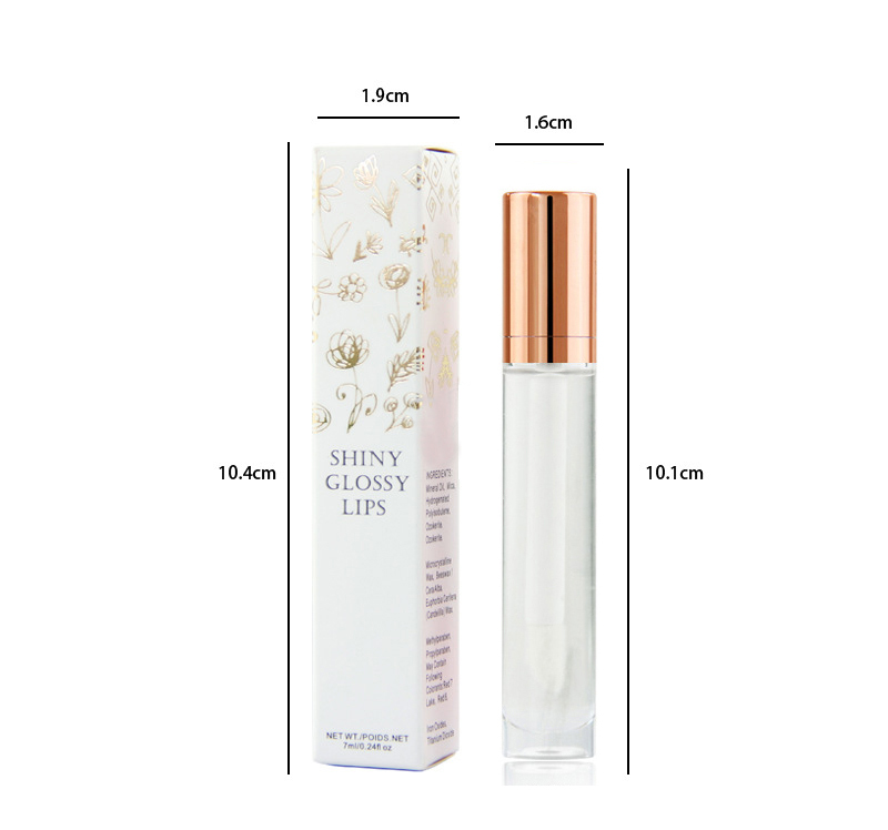 Private label clear lip gloss / transparent lipgloss