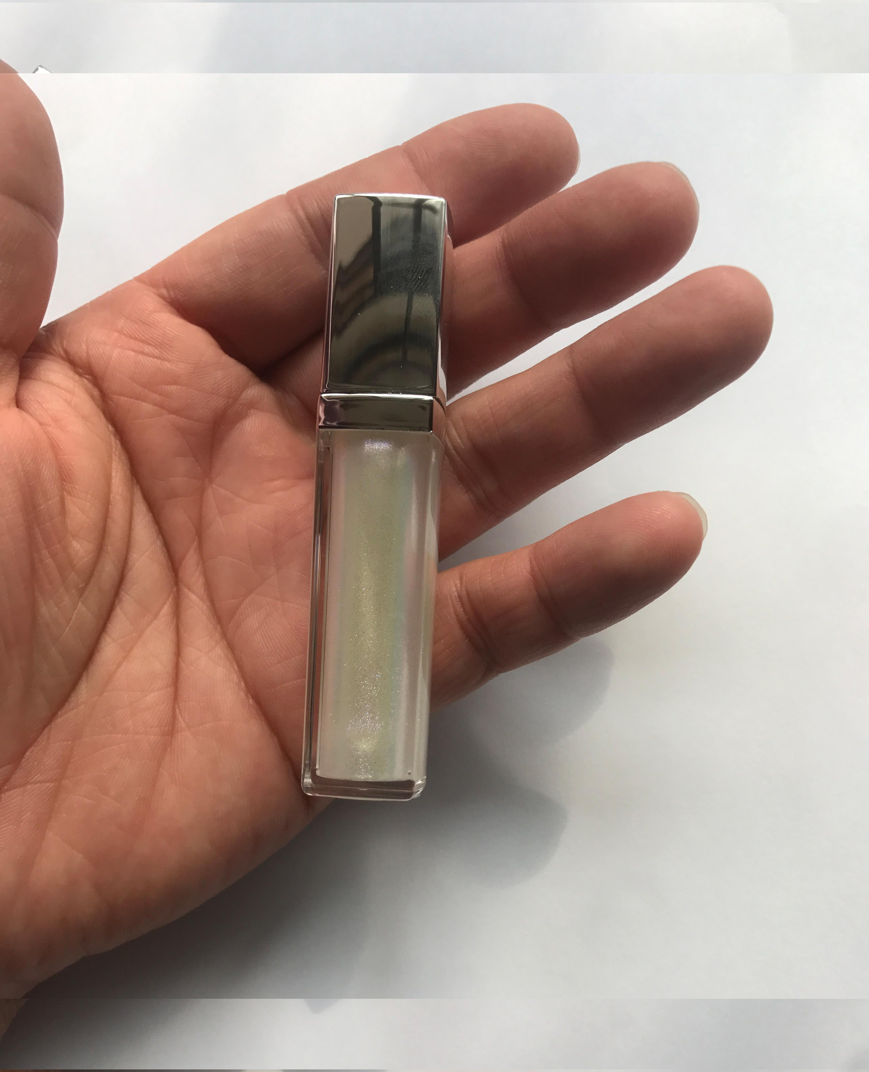 luxury vegan private label glitter lip gloss cosmetics - LG0378