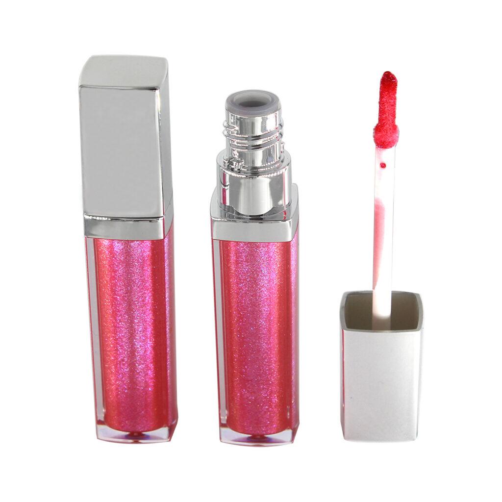 Private label glitter lip gloss (color 2-2)