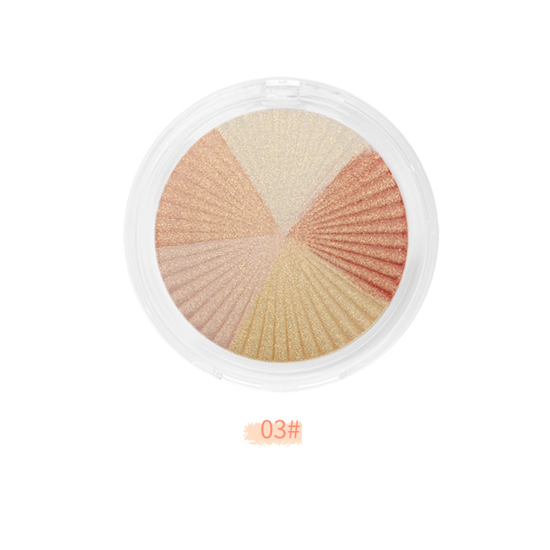 5 colors Highlighter Private label - HL0009
