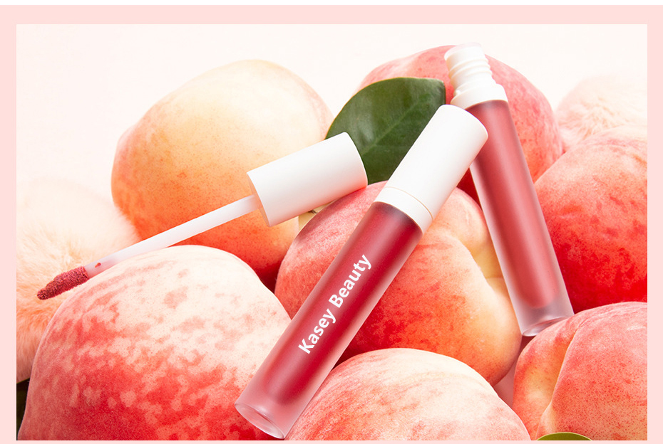 Velvet matte texture liquid lipstick Private label | LG0393